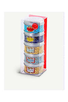 KUSMI TEA Russian Blend Teas Miniature sampler set 5x25g