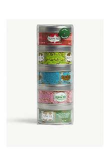 KUSMI TEA Green Teas Miniature sampler set 5x25g