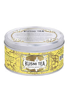 KUSMI TEA Green tea with jasmine loose leaf tea 125g