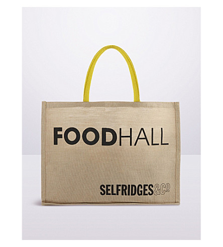 SELFRIDGES SELECTION - Selfridges Foodhall reusable tote ...