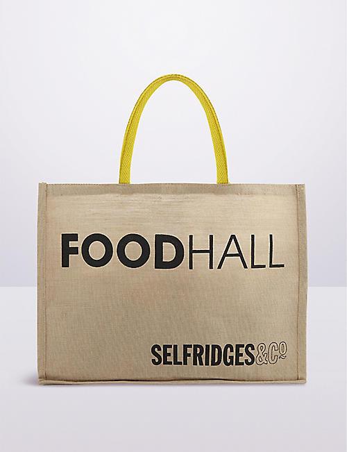 3628c01cbe SELFRIDGES SELECTION - Selfridges Foodhall reusable tote ...