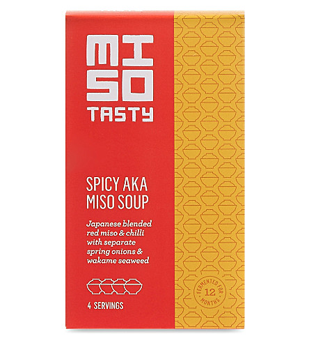 MISO TASTY Spicy AKA miso soup pack of four