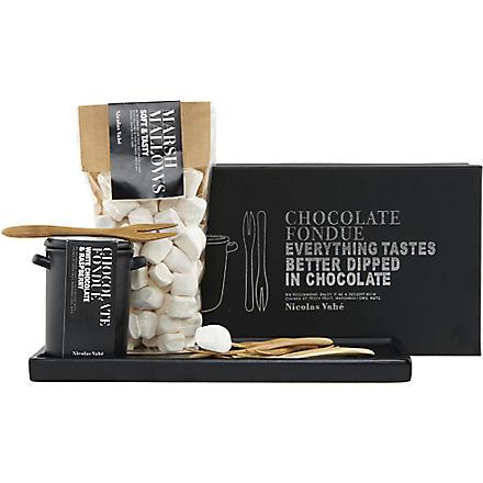 NICOLAS VAHE White chocolate & raspberry fondue kit 180g