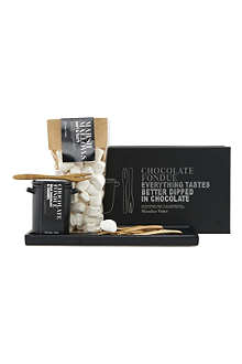 NICOLAS VAHE Milk chocolate & caramel fondue kit 180g