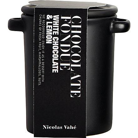 NICOLAS VAHE White chocolate and lemon fondue 180g