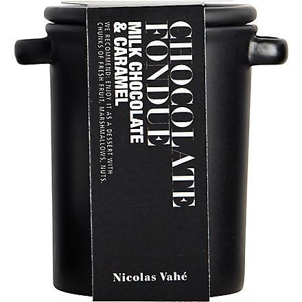 NICOLAS VAHE Milk chocolate and caramel fondue 180g