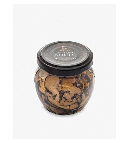 TRUFFLE HUNTERS Black truffle carpaccio 80g