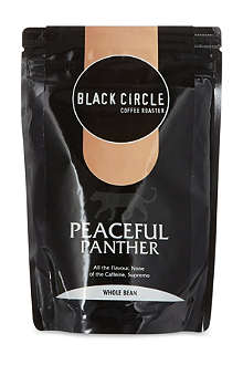 BLACK CIRCLE Peaceful panther whole bean coffee 227g