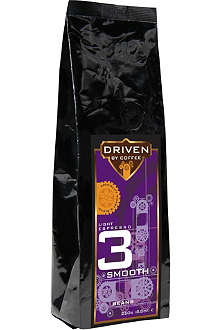 DRIVEN BY COFFEE Light espresso smooth beans 250g