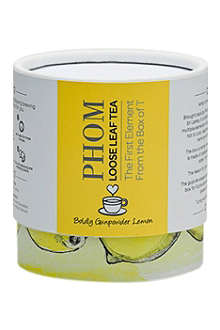 PHOM Gunpowder Lemon loose-leaf green tea 50g