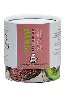 NONE Tantalisingly Strawberry & Kiwi loose-leaf tea 50g