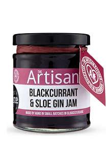 THE ARTISAN KITCHEN Blackcurrent & sloe gin jam 200g