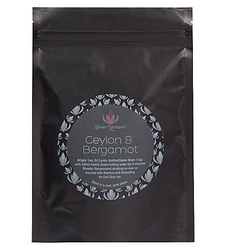 SILVER LANTERN Ceylon & Bergamot loose leaf tea 100g