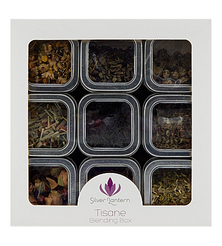 SILVER LANTERN Tisane blending box