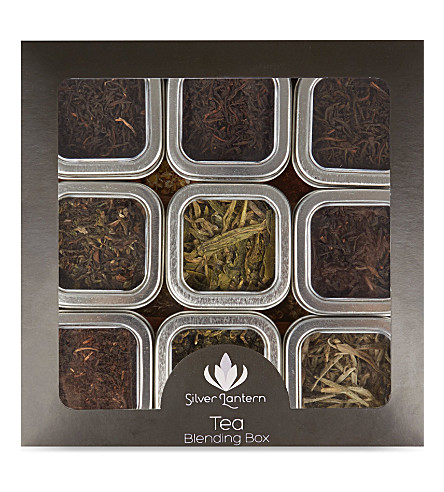 SILVER LANTERN Loose leaf tea blending box 108g
