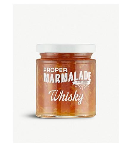 THE PROPER MARMALADE COMPANY Whisky marmalade 227g