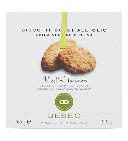 DESEO Ricetta Toscana biscuits 160g