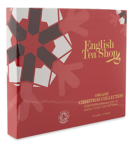 TEA Organic Christmas tea collection 144g
