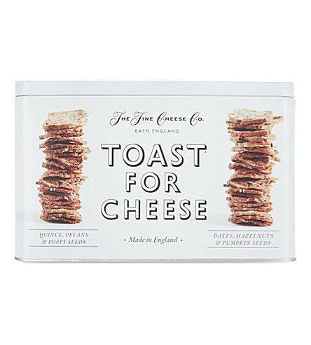 THE FINE CHEESE CO Toast for cheese gift tin 200g