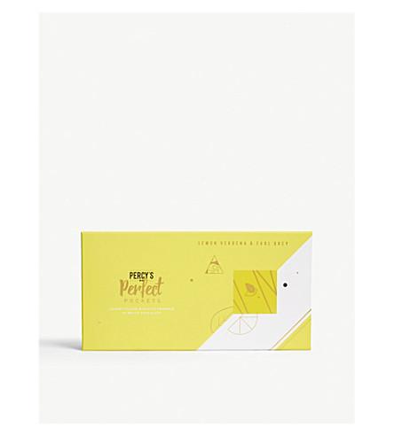 PERCY'S BAKERY Lemon Verbena and Earl Grey white chocolate Perfect Pockets 120g