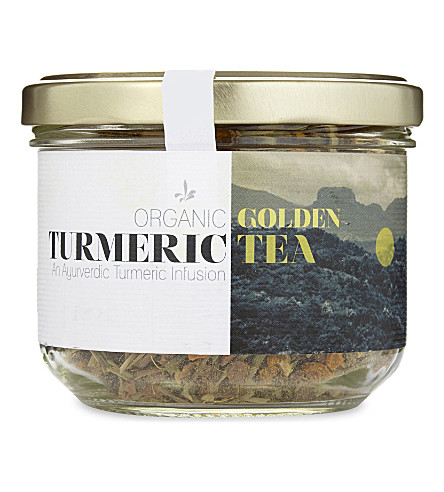 Organic Golden turmeric infused tea 70g