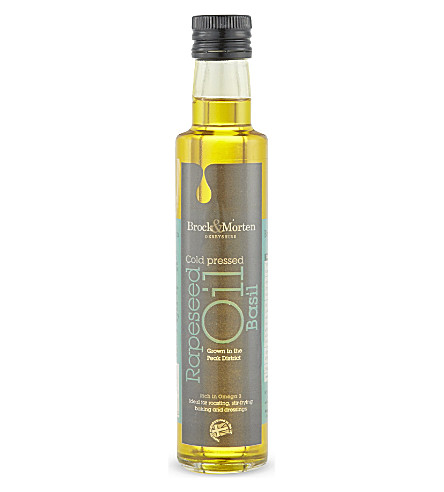 OILS Basil rapeseed oil 250ml