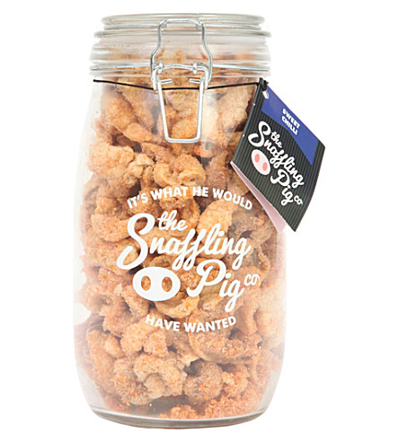 SNACKS Sweet chilli pork scratchings 300g