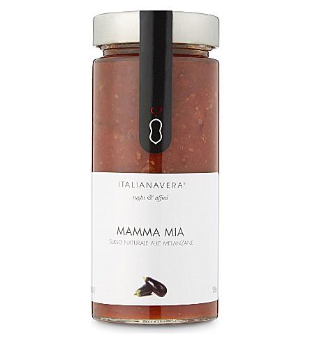 MAMMA MIA Mamma Mia tomato and aubergine sauce 280g