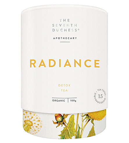 TEA The Seventh Duchess Radiance Organic Detox tea 100g