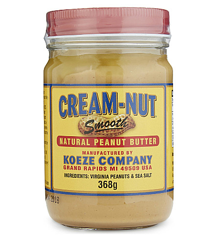 KOEZE Cream-nut smooth peanut butter 368g