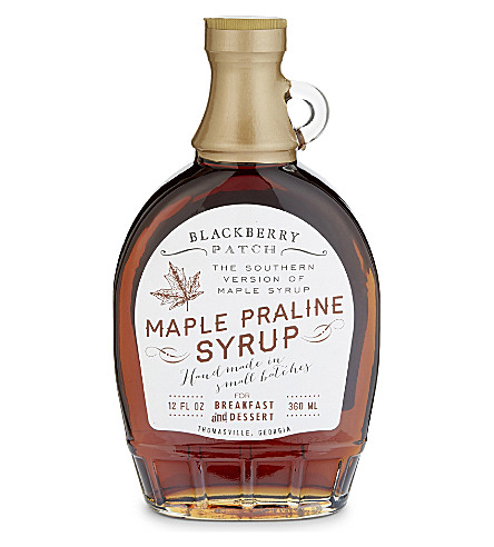 CONDIMENTS & PRESERVES Sweet maple praline syrup 360ml