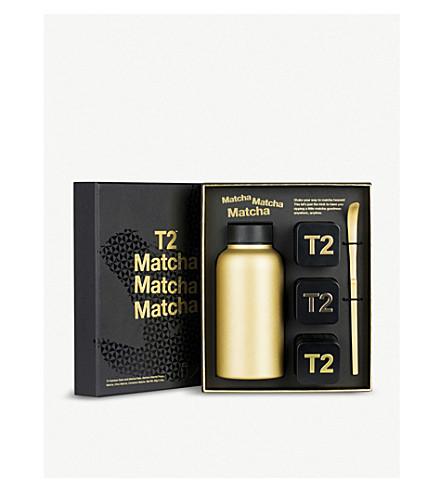 T2 Matcha Matcha Matcha stainless steel flask set