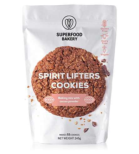 SUPERFOOD BAKERY Spirit Lifters Cookies Mix 245g