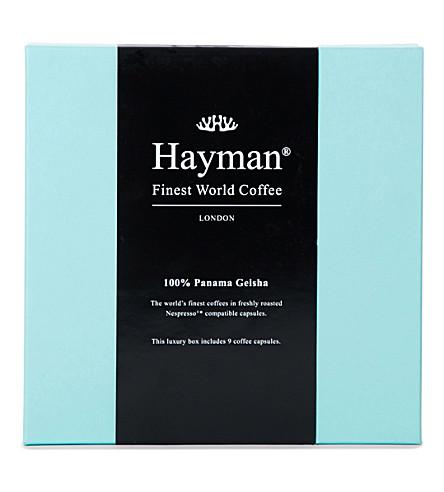 HAYMANS Panama Geisha coffee pods