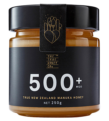 THE TRUE HONEY COMPANY Raw Manuka honey 500mg