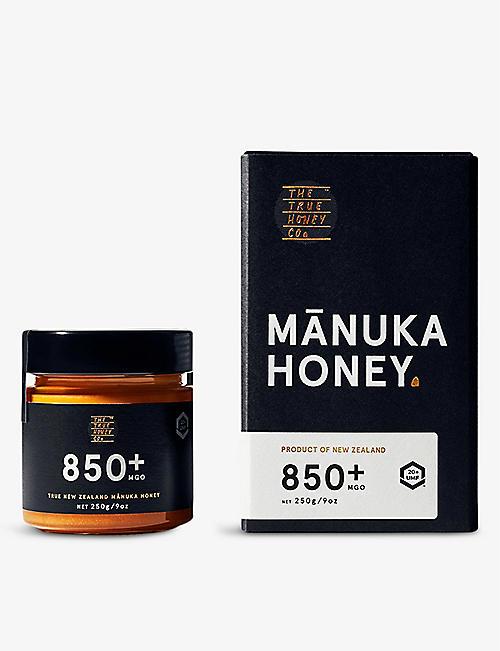 THE TRUE HONEY COMPANY Raw Manuka honey 250g