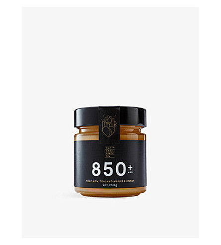 THE TRUE HONEY COMPANY Raw Manuka honey 850mg