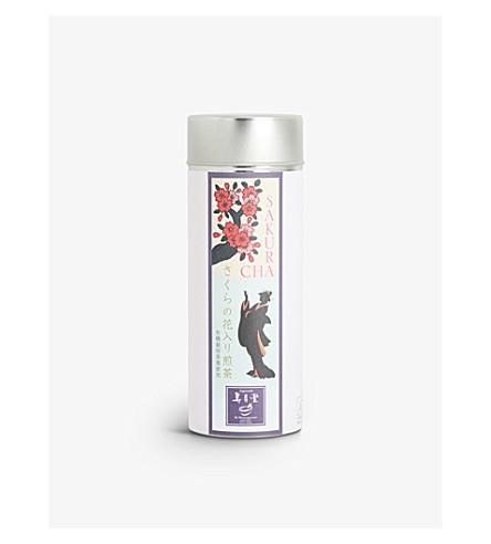 JUGETSUDO Sakura Sencha green tea tin 50g