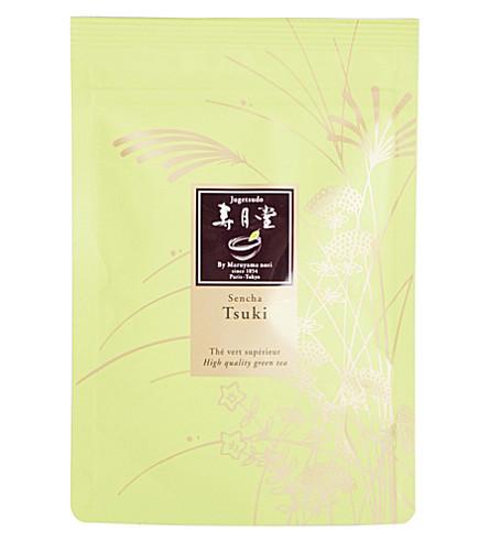 JUGETSUDO Sensha tsuki loose green tea sachet 50g