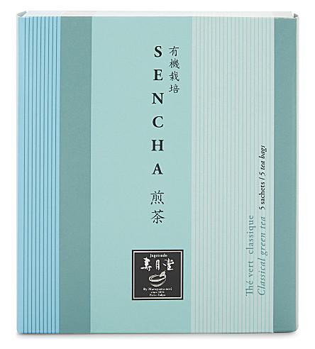 JUGETSUDO Sencha Classic green tea sachets 5 pieces 10g