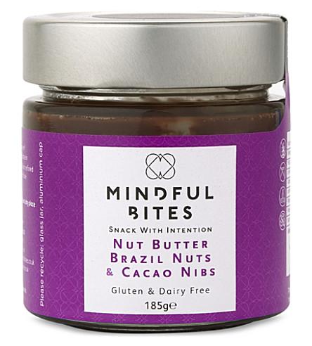 MINDFUL BITES 巴西坚果和可可豆坚果黄油185g
