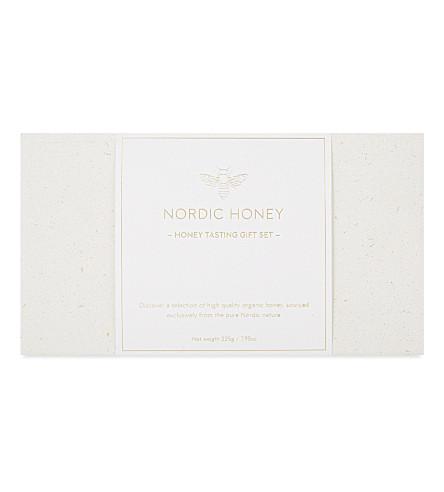 NORDIC HONEY Honey tasting gift set 225g