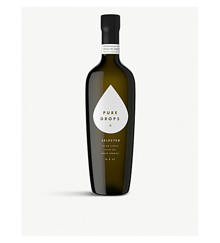PURE DROPS Selected extra virgin olive oil 500ml