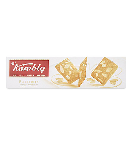 KAMBLY Butterfly almond biscuits 100g