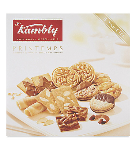 KAMBLY Printemps biscuit assortment 350g