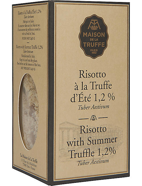 MAISON DE LA TRUFFE Risotto with Summer Truffle 350g