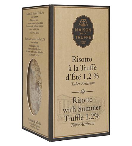 MAISON DE LA TRUFFE Risotto with Summer Truffle 350g