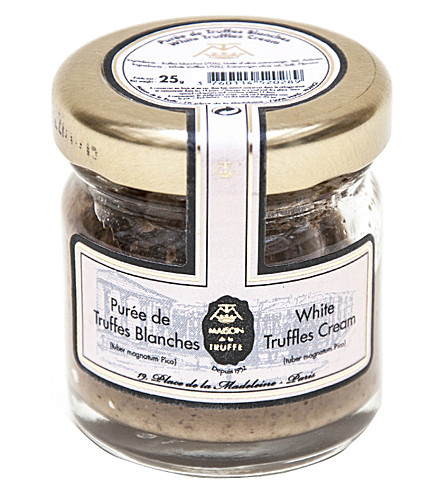 MAISON DE LA TRUFFE White Truffles Cream 25g