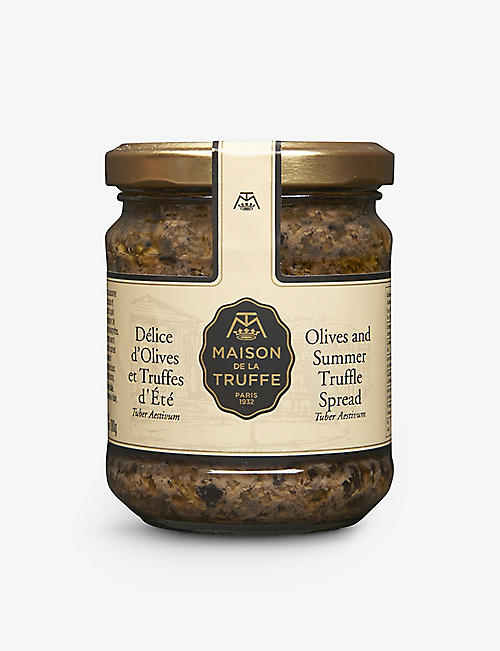 MAISON DE LA TRUFFE Olive and Summer Truffle Spread 180g