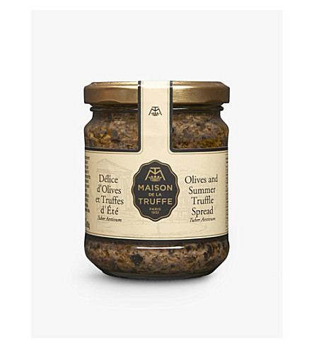 MAISON DE LA TRUFFE Olive and Summer Truffle Spread 180g